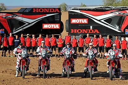 Honda HRC pronta per andare all'assalto della Dakar