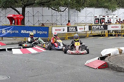 Castroneves e Leal vincono in kart in Colombia