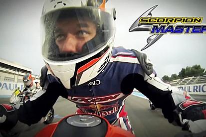 Sebastien Loeb al via della Scorpion Masters 2013!