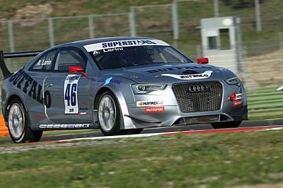 Vallelunga, Gara 2: Larini su Audi precede Berton