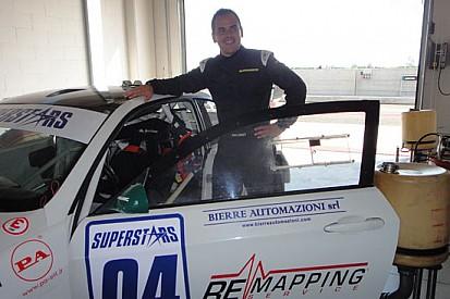 Test con la BMW del Team Dinamic per Baldan