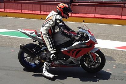 Alessio Velini in Superbike con il team Speed Action