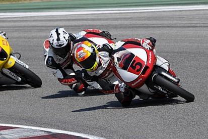 Lotta a cinque a Misano in Gara 2 della Moto3