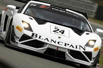 Pole position per la Lamborghini a Zolder