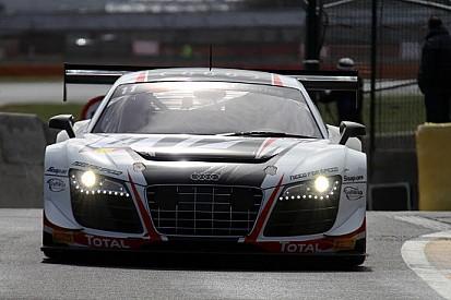 L'Audi monopolizza il venerdì di Zolder
