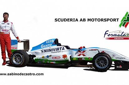 Sabino De Castro debutta in Formula Abarth nel 2013