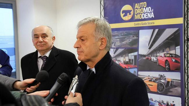 Il Ministro Clini visita l'Autodromo di Modena
