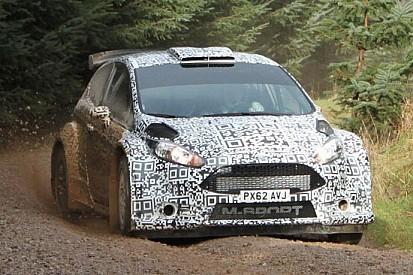 Primo test per la Ford Fiesta R5 con Matthew Wilson