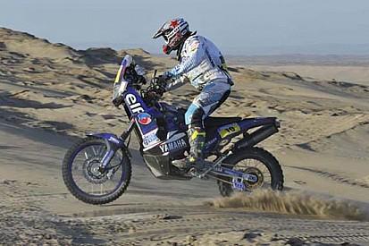 Dakar, 5° Tappa: Casteu guida la doppietta Yamaha
