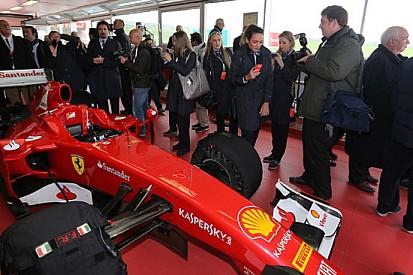 Le medaglie olimpiche di Londra in visita alla Ferrari