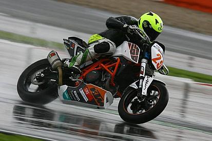 EJC: Daley in pole sotto alla pioggia a Silverstone