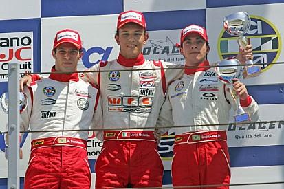 Luca Ghiotto senza rivali in gara 1 a Misano