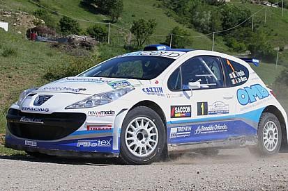 Mauro Trentin cala il tris al Rally Puglia e Lucania