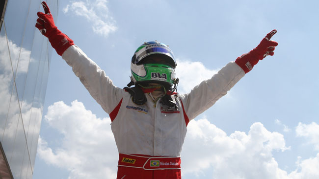 Nicolas Costa trionfa in gara 1 all'Hungaroring