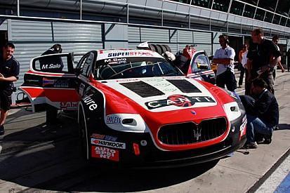 Mika Salo in evidenza nei test di Monza