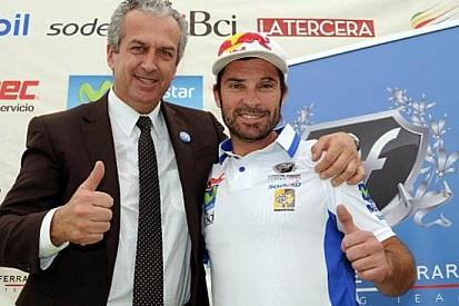 """""""Chaleco"""" Lopez firma per il team Bordone-Ferrari"""