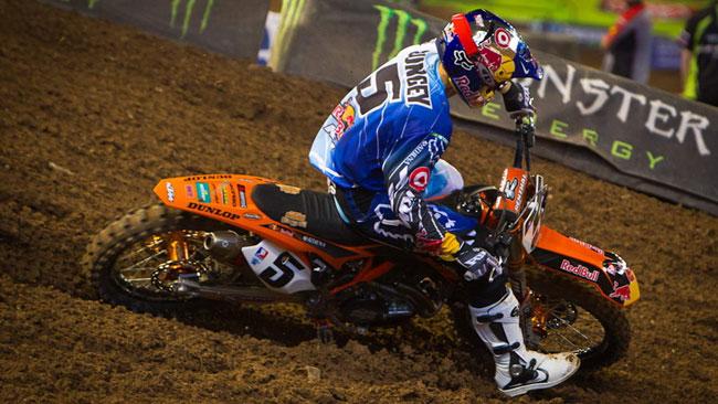 Ryan Dungey porta al successo la KTM a Phoenix