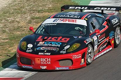 Matteo Cressoni alla prima pole position stagionale