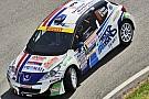 Alessandro Perico al via del Rally di Sanremo