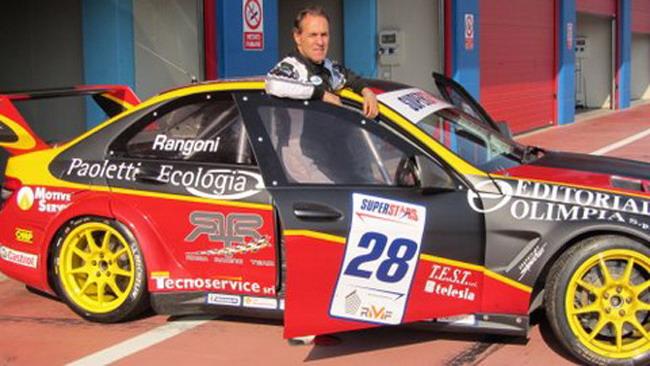 Felice Tedeschi debutta con il Roma Racing Team