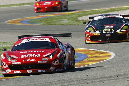 Cadei porta al successo la Ferrari 458 in gara 1