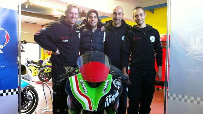 BWG Racing e Thomas Caiani insieme nel mondiale