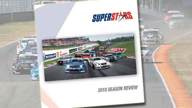"""In uscita il libro """"Superstars 2010 season review"""""""
