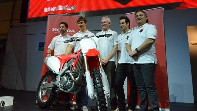 Presentato l'Honda World Motocross Team