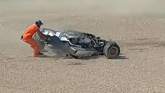 Ecco il video dell'incidente di Marciello