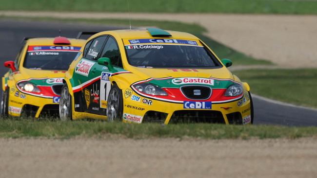 Doppietta Seat in gara 1 ad Imola