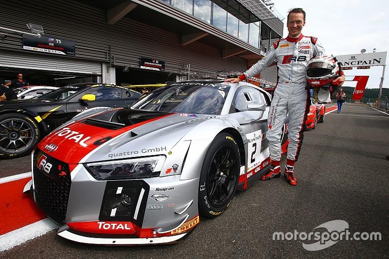 Stippler asegura la pole para las 24 Horas de Spa con Audi
