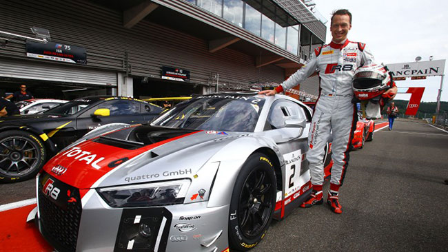 24 Ore di Spa: Stippler regala la pole all'Audi
