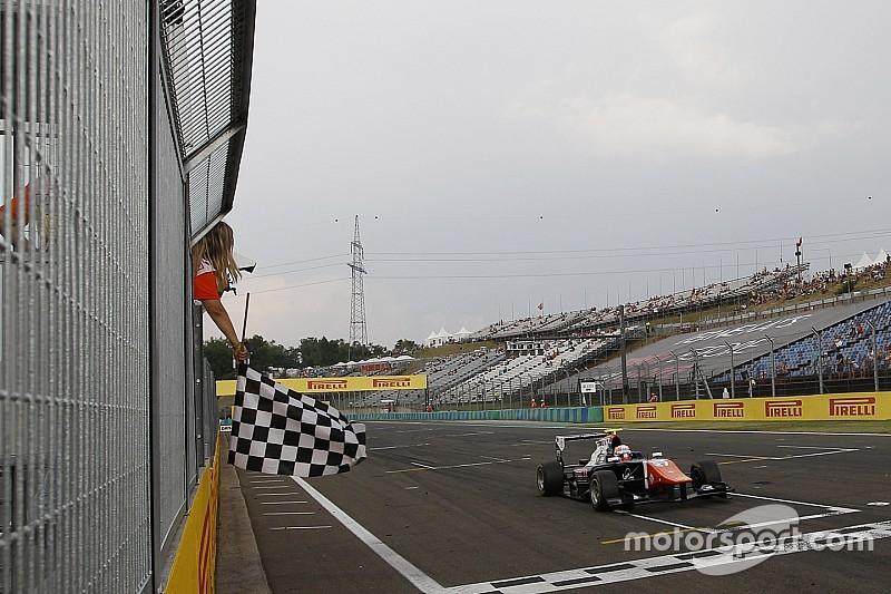 Ghiotto domina en Hungría y se aleja en el campeonato de GP3