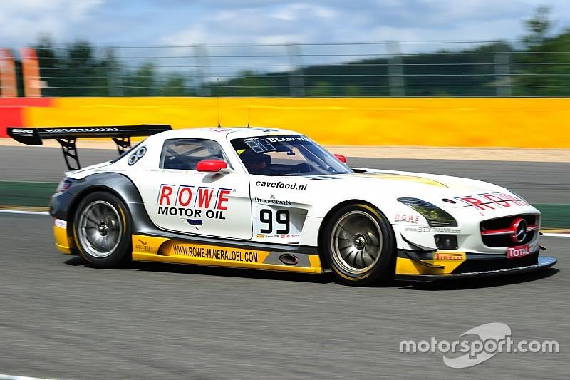 Spa 24: Mercedes takes advantage of Audi's misfortune