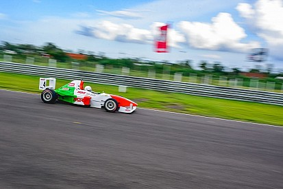 Parekh takes the win in Race 1; Tharani third