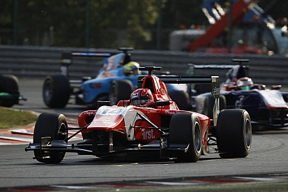 Hungary GP3: Ceccon wins race two as poleman Fuoco crashes out