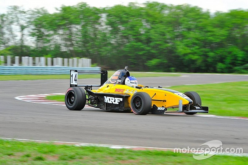 Narendran wins race two; Parekh leads the championship
