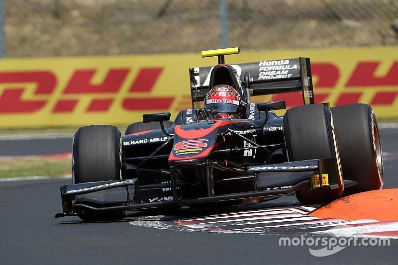 Matsushita logra su primer triunfo en GP2