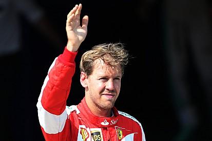 Sebastian Vettel dédie sa victoire à Bianchi