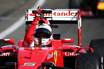 """Vettel: """"This victory is for Jules"""""""