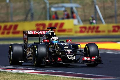Good result for Lotus' Grosjean in an eventful Hungarian GP