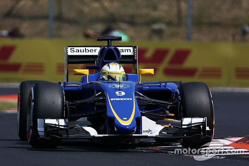 Sauber inscrit un point au terme d'un week-end compliqué