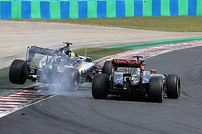 Hat-trick? Maldonado toma três punições durante GP da Hungria
