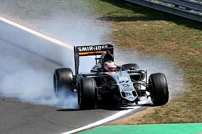 Force India: cedimento legato a cordoli e vibrazioni