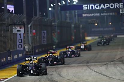 Modifications made to Singapore GP circuit