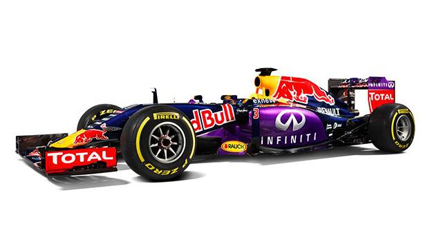 فريق ريد بُل يكشف عن الألوان الرسميّة لسيارة عام 2015