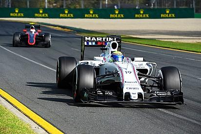لفة ماسا وراء ريكاردو كلّفته المركز الثالث في أستراليا