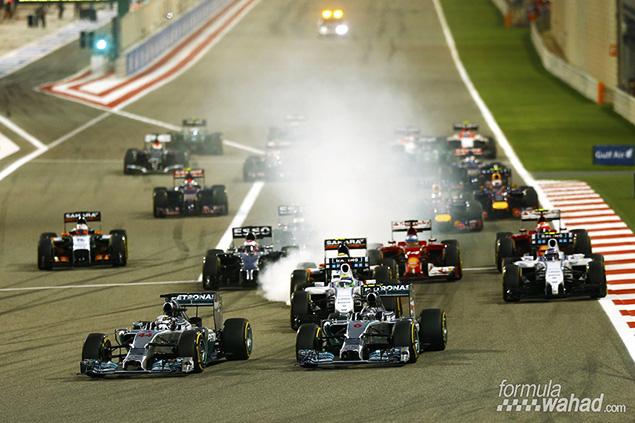 مواعيد عرض سباق جائزة البحرين الكبرى 2015