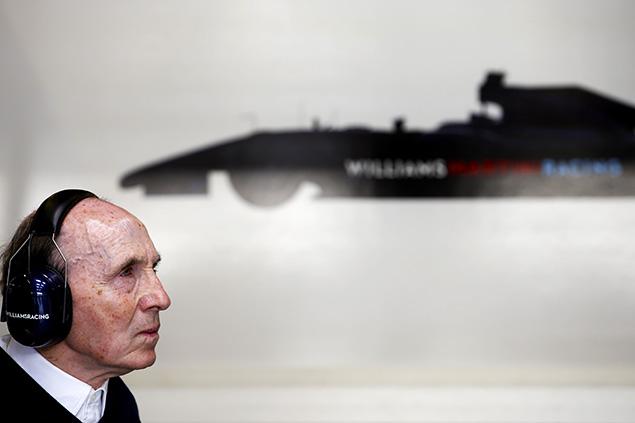 فرانك ويليامز لا ينوي إعتزال الفورمولا واحد