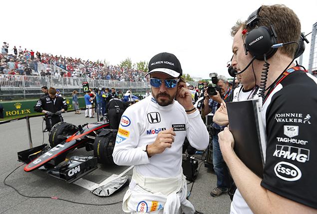 ألونسو يُوضّح سبب رفضه الحفاظ على الوقود في سباق كندا